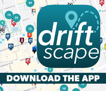 Driftscape Download Button