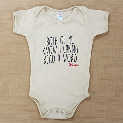 Baby Onesie – Both of ye know