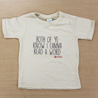 Toddler T-Shirt – Both of ye know