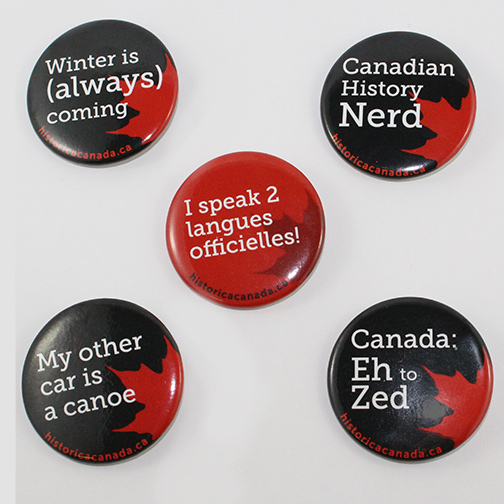 Canadiana Buttons